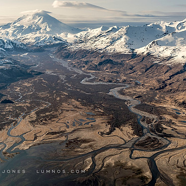 Winter, Aleutian Mountain Range, no.34