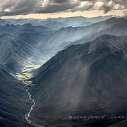 Sunlit Valley, Shadowed Peaks, no.2