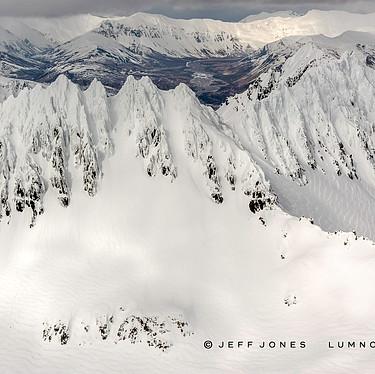Winter, Aleutian Mountain Range, no.13