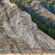 Contrasting Canyon Walls