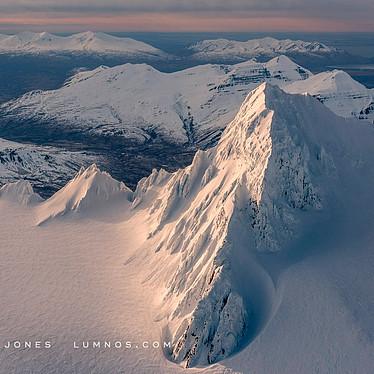 Winter, Aleutian Mountain Range, no.31