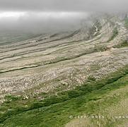 Fog Shrouds Tectonic Uplift