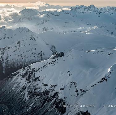 Winter, Aleutian Mountain Range, no.49