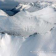 Razor Ridges and Pacific Ocean