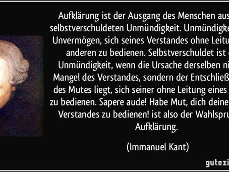 Immanuel Kant: Heute aktuell wie nie