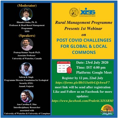 POST-COVID CHALLENGES FOR GLOBAL & LOCAL