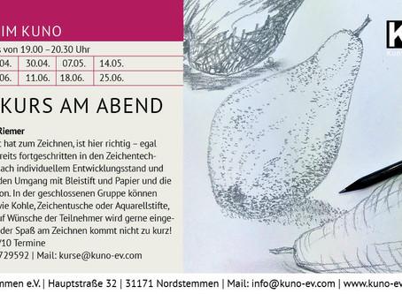 Neuer Zeichenkurs in der Gruppe ab April - Verschoben!