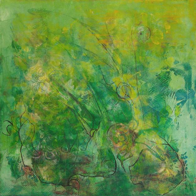 Im tiefen Grün