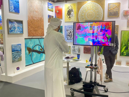 April: World Art Dubai