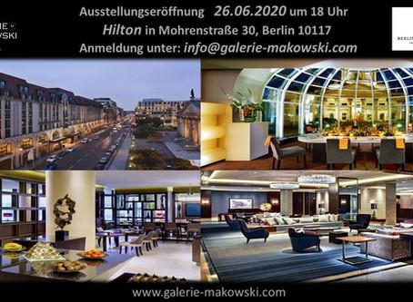 Hilton, Berlin, Capital Club ...
