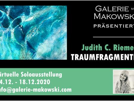 Dezember: Virtuelle Soloausstellung Galerie Makowski