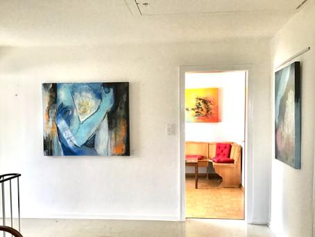 Ein Blick in meine aktuelle Ausstellung: