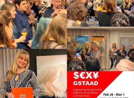 Artsfemin - Ausstellung in Gstaad, Schweiz
