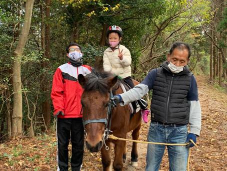 乗馬体験に行って来ました。
