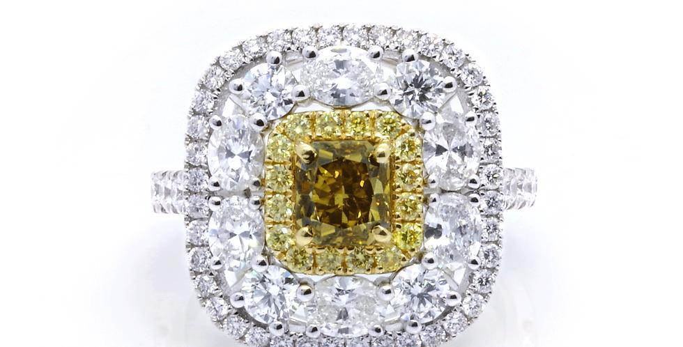 AUDREY DIAMOND RING