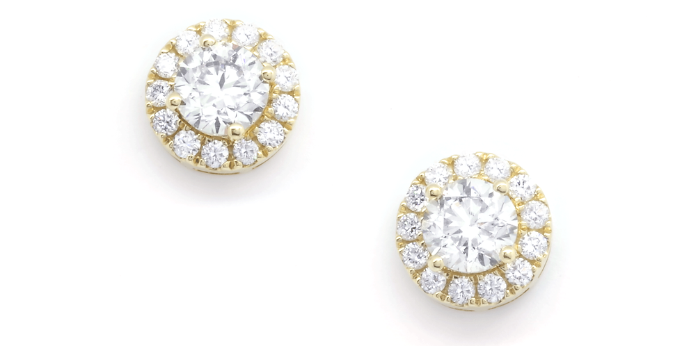 SWEETHEART DIAMOND EARRING