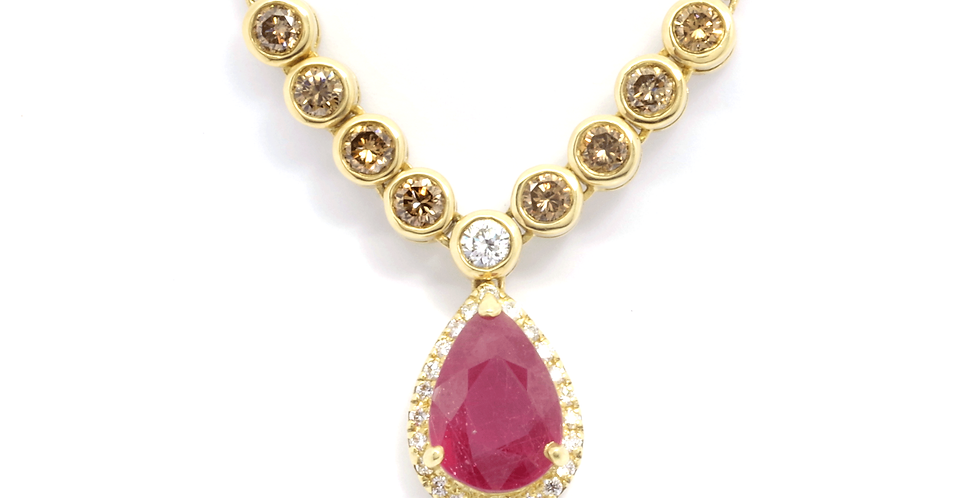 MAJESTY RUBY NECKLACE