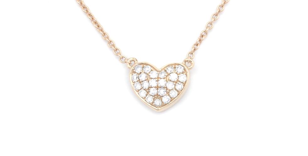 FOLLOW YOUR HEART DIAMOND NECKLACE