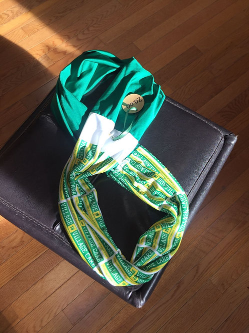 V2VC Logo infinity scarf