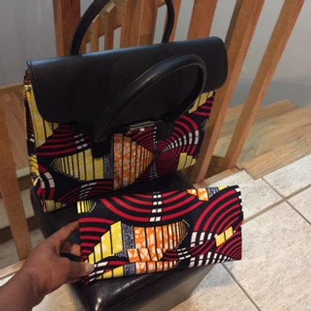 Hand Bag/Clutch set