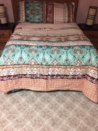 Full/Queen size Comforter/Pillow Case set