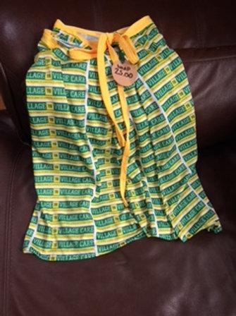 V2VC logo wrap skirt