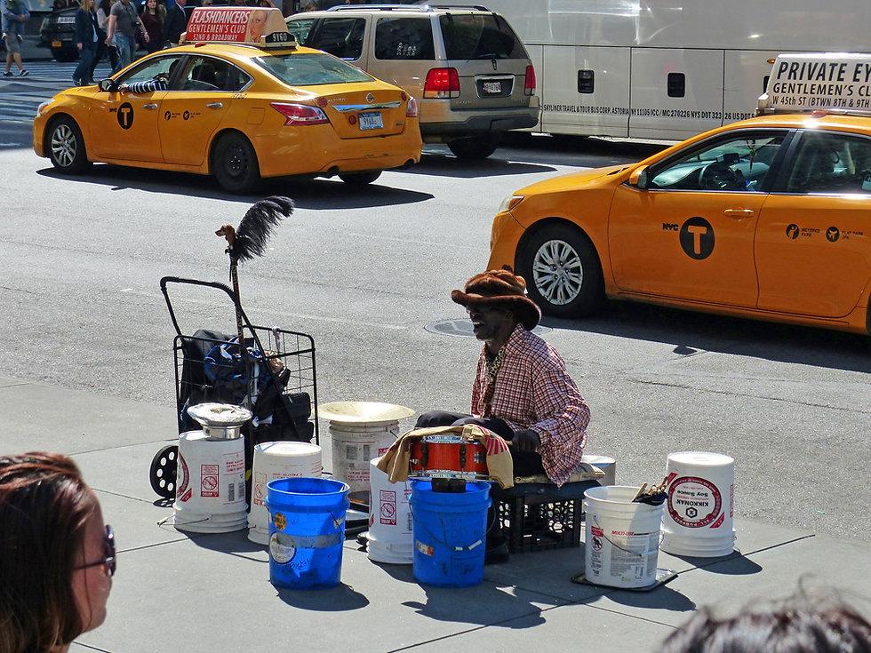 New-York - musicien rue