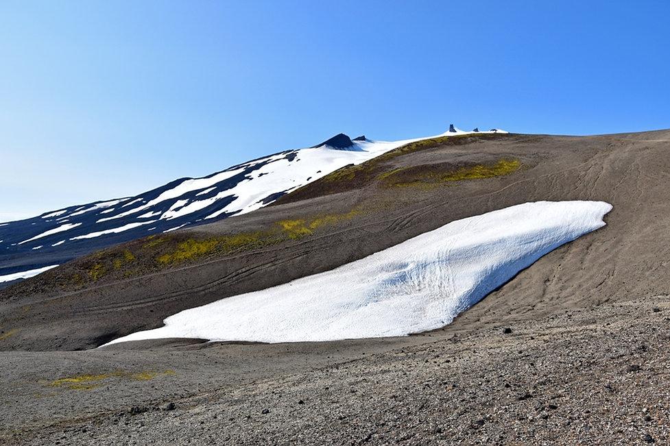Islande Snæfellsjökull volcan piste f570 névé