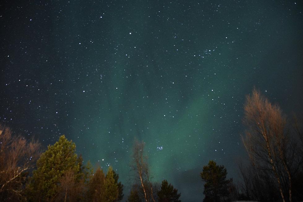Norvège - Senja - Aurore boréale - Kp2