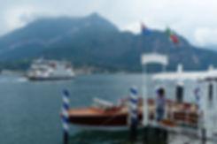 Lac de Côme Bellagio bateaux