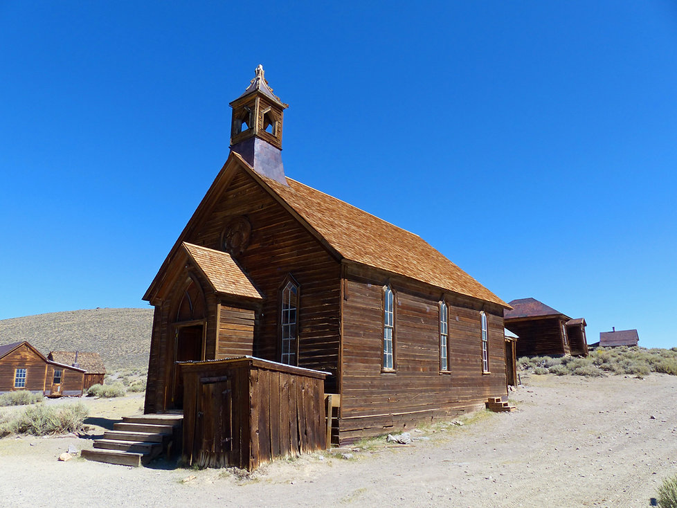 Bodie ghost town église