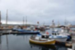 islande iceland husavik port