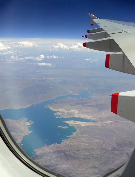 Survol Lac Mead A380