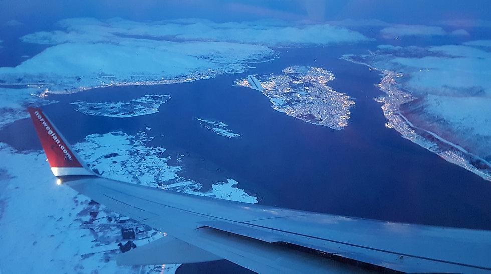 Vol Paris Tromso - Norwegian - Tromsøya