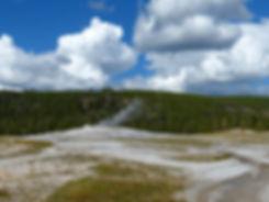 Yellowstone National Park Upper Geyser Basin Old Faithful Geyser