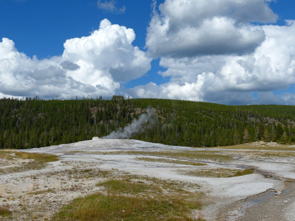 Yellowstone National Park Upper Geyser Basin Old Faithful Geyser