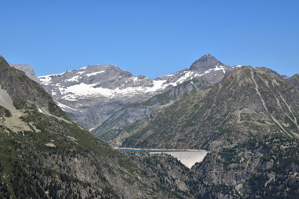 Chamonix - Aiguillette des Posettes - Barrage Emosson