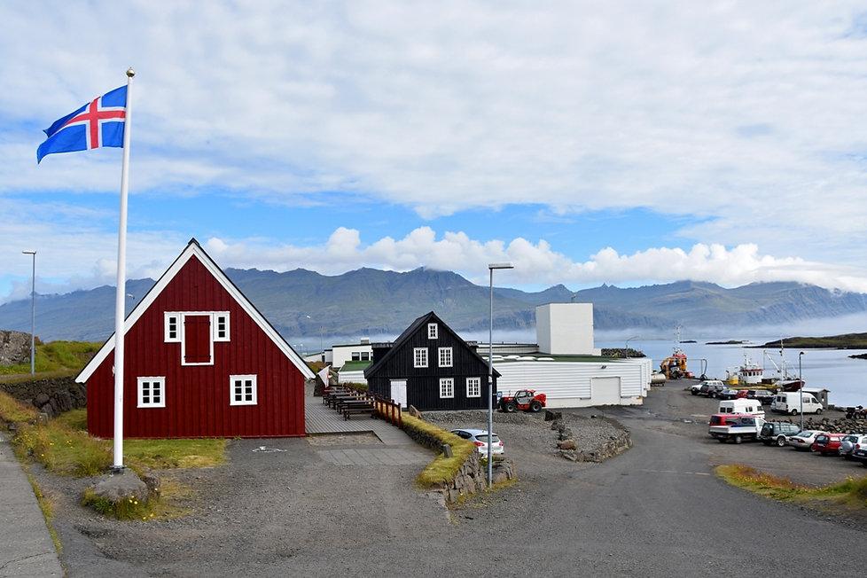 Djúpivogur maison bois islande iceland