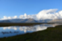 islande iceland paysage landscape reflexion evening