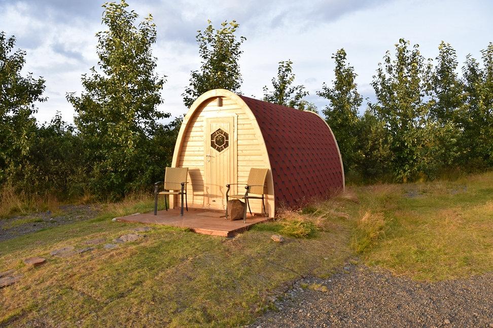 Fossatun pods cottage