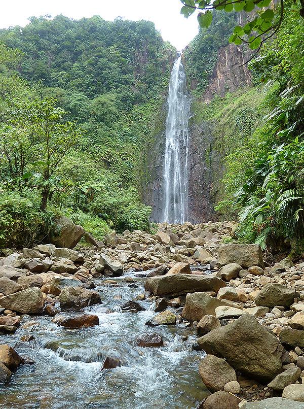 Guadeloupe - 2ème chutes du carbet
