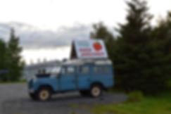 Islande vente fraise culture serre