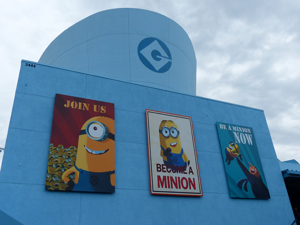 Universal Studios Hollywood Minions