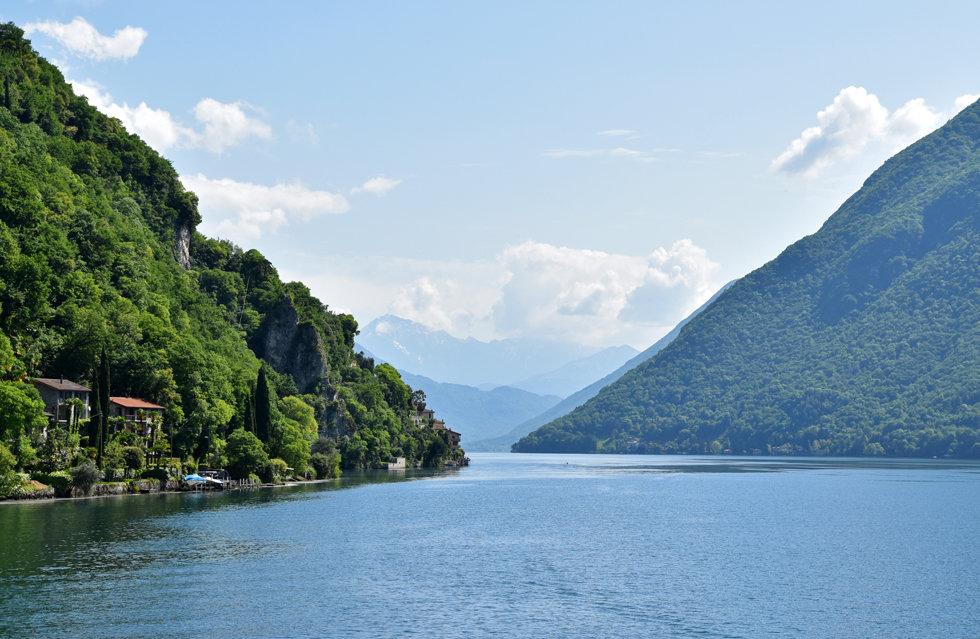 lac lugano sentier olivier