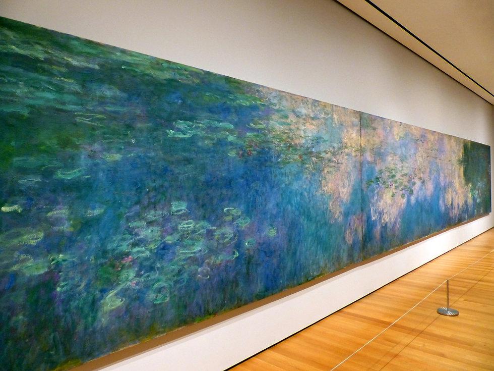 New-York - MOMA - les Nympheas