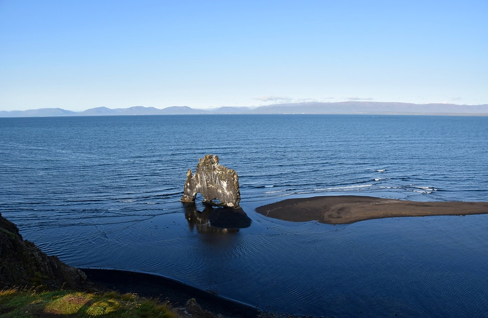 Islande - péninsule de Vatnsnes - Hvítserkur