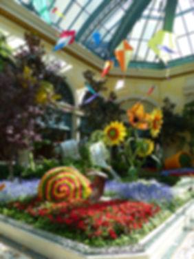 Las Vegas Bellgio Botanical Garden