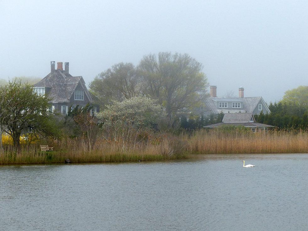 Southampton Lake fog