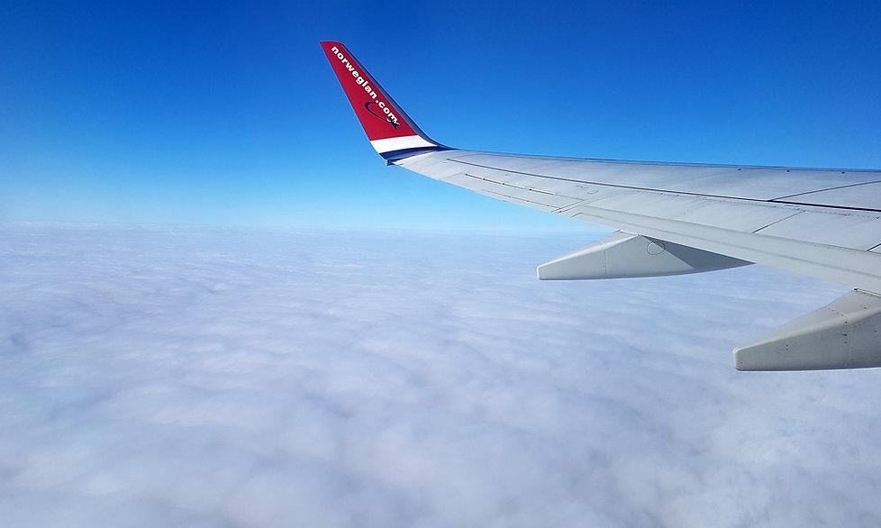 Norvège - Vol Paris Tromso - Norwegian