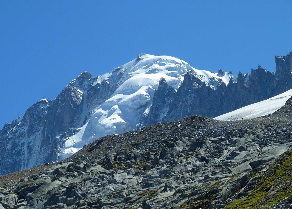 Chamonix - randonnée - glacier d'argentière - aiguille verte